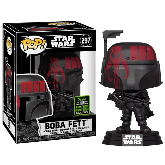 POP BOBA FETT (LIMITED EDITION COMIC CON) 297 STAR WARS - FUNKO