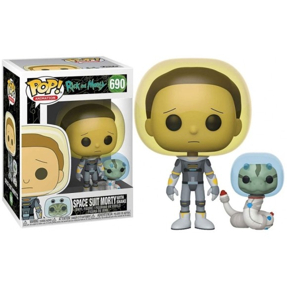 POP SPACE SUIT MORTY (WITH SNAKE) 690 RICK AND MORTY - FUNKO