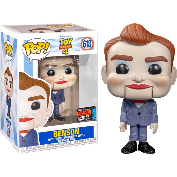 POP BENSON (LIMITED EDITION COMIC CON) 618 TOY STORY - FUNKO
