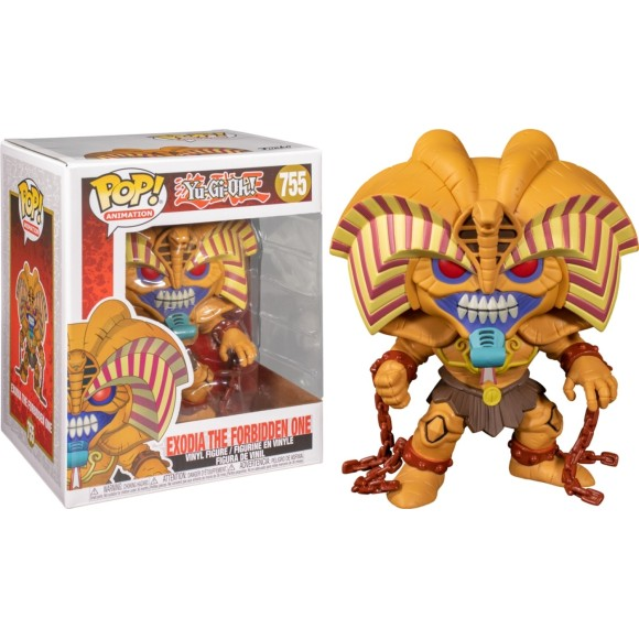 POP EXODIA THE FORBIDDEN ONE 755 YU-GI-OH! - FUNKO