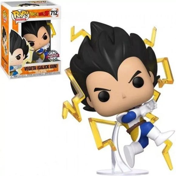 POP VEGETA (SPECIAL EDITION) 712 DRAGON BALL Z - FUNKO