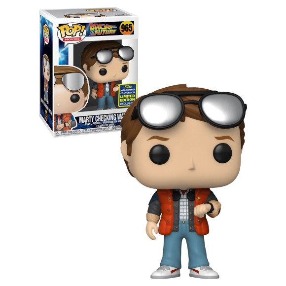 POP MARTY CHECKING WATCH (SDCC) 965 BACK TO THE FUTURE - FUNKO