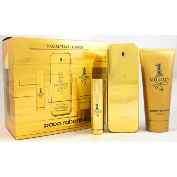 KIT ONE MILLION 100ML - PACO RABANE