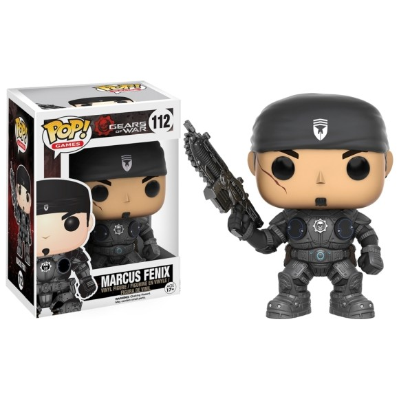 POP MARCUS FENIX GEARS OF WAR 112 - FUNKO