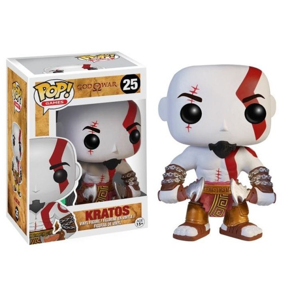 POP KRATOS GOD OF WAR 25 - FUNKO