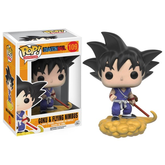 POP GOKU E FLYING NIMBUS DRAGON BALL 109 - FUNKO