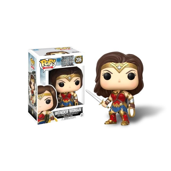 POP WONDER WOMAN JUSTICE LEAGUE 206 - FUNKO