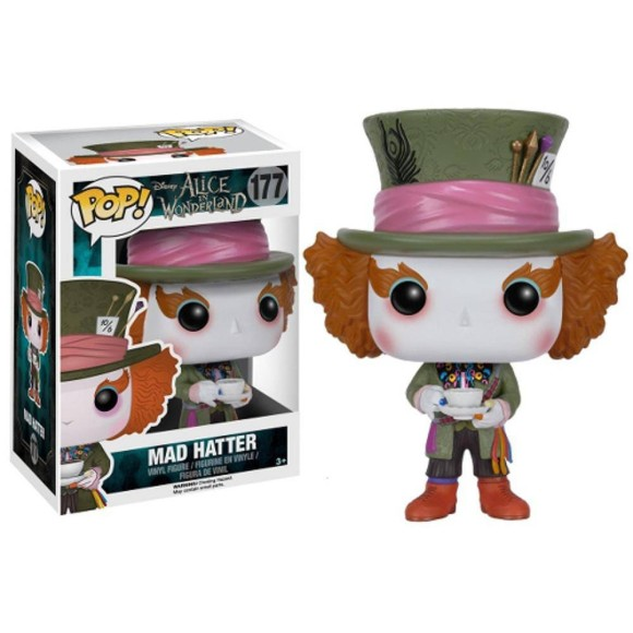 POP CHAPELEIRO MALUCO ALICE IN WONDERLAND 177 - FUNKO