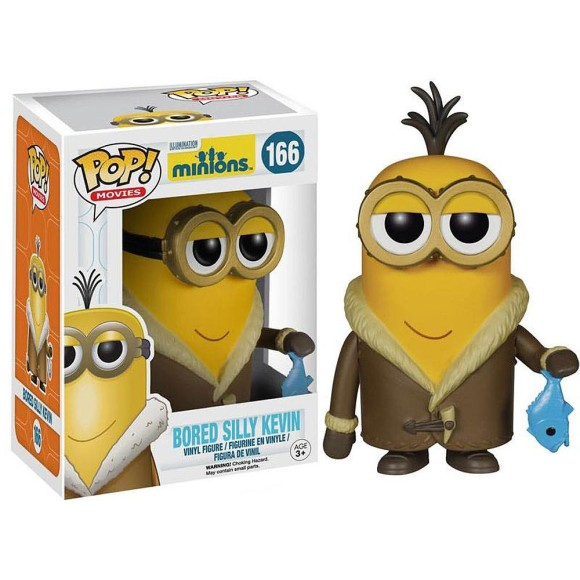 POP BORED SILLY KEVIN MINIONS 166