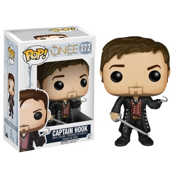 POP CAPTAIN HOOK ONCE UPON A TIME 272 - FUNKO