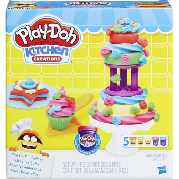 PLAY DOH BOLOS DECORADOS B9741 - HASBRO