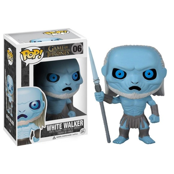 POP WHITE WALKER GAME OF THRONES 06 - FUNKO