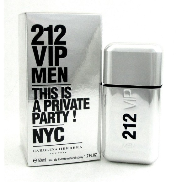 PERFUME 212 VIP MEN NYC 50ML CAROLINA HERRERA