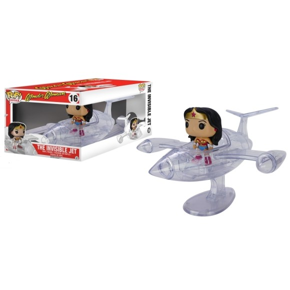POP THE INVISIBLE JET WONDER WOMAN 16 - FUNKO