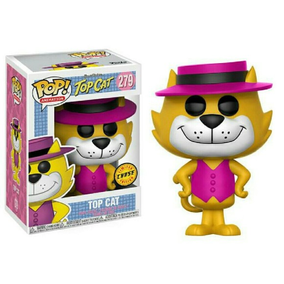POP TOP CAT HANNA BARBERA 279 - FUNKO