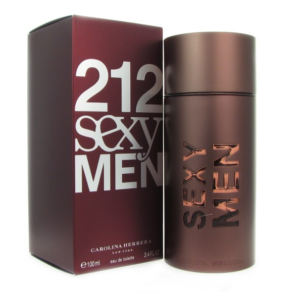 PERFUME MASCULINO 212 SEXY MEN 100ML - CAROLINA HERRERA