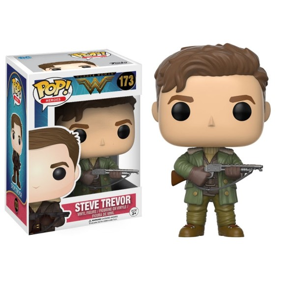 POP STEVE TREVOR WONDER WOMAN 173 - FUNKO