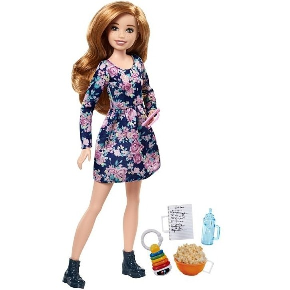 BARBIE FAMILY SKIPPER BABYSITTERS FHY89 - FHY89