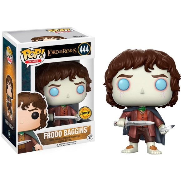 POP FRODO BAGGINS CHASE THE LORD OF THE RINGS 444 - FUNKO