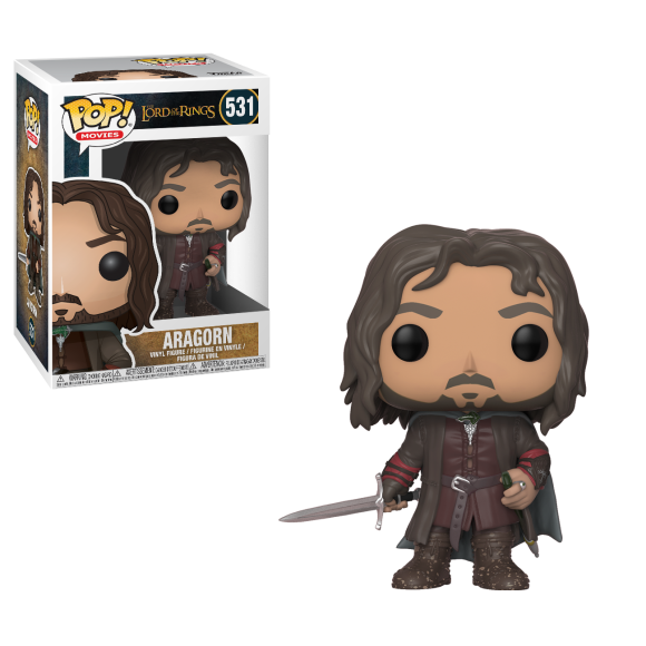 POP ARAGORN THE LORD OF THE RINGS 531 - FUNKO