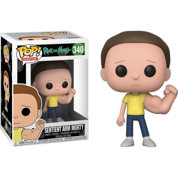 POP SENTIENT ARM MORTY RICK AND MORTY 340 - FUNKO