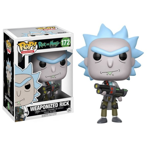 POP WEAPONIZED RICK 172 RICK AND MORTY - FUNKO