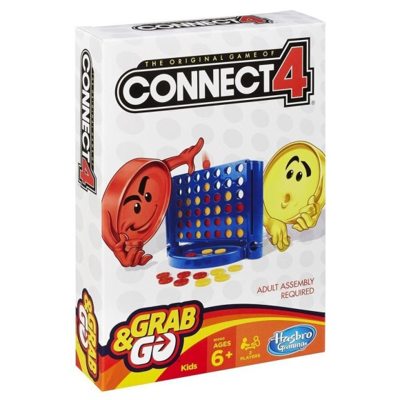 CONNECT 4 GRAB E GO - HASBRO