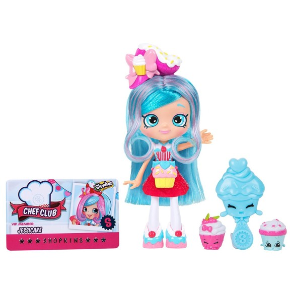 BONECA SHOPKINS SHOPPIES CHEF CLUB JESSICAKE 15CM 4435 - DTC