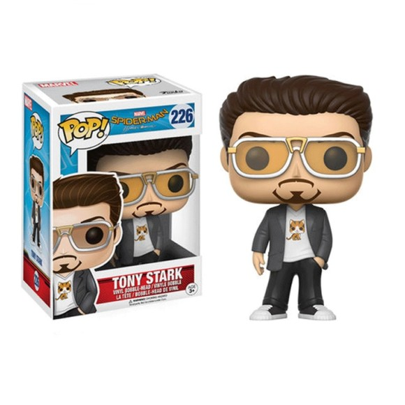 POP TONY STARK 226 SPIDER MAN - FUNKO